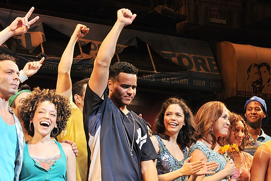 In the Heights Closing Night – Marcy Harriell – Christopher Jackson – Arielle Jacobs – Andrea Burns