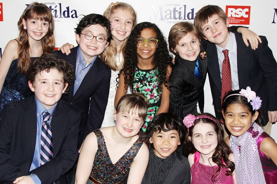 Matilda – Opening Night – Kids Ensemble
