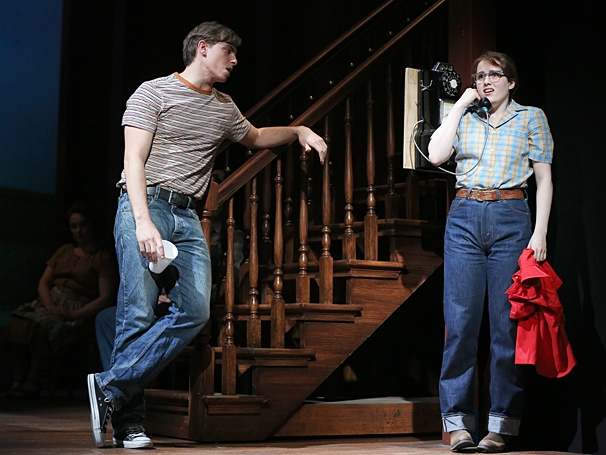 The Bridges of Madison County - Show Photos - Derek Klena - Caitlin Kinnunen
