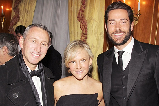 Drama League gala for NPH - 2014 - Adam Shankman - Rachael Harris - Zachary Levi