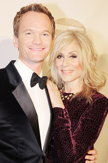 Drama League gala for NPH - 2014 - Neil Patrick Harris - Judith Light