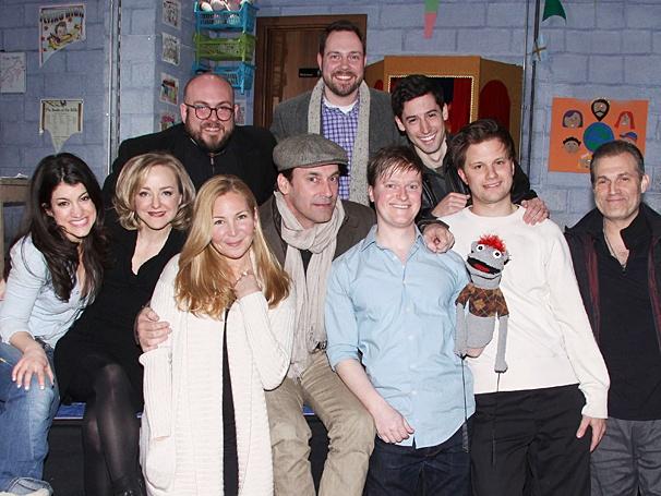 Hand to God - Jon Hamm Visits - OP - Moritz von Stuelpnagel - Robert Askins - Jon Hamm - Jennifer Westfeldt - cast