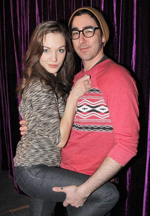 Disaster - LGBT night - OP - Laura Osnes - Max Crumm