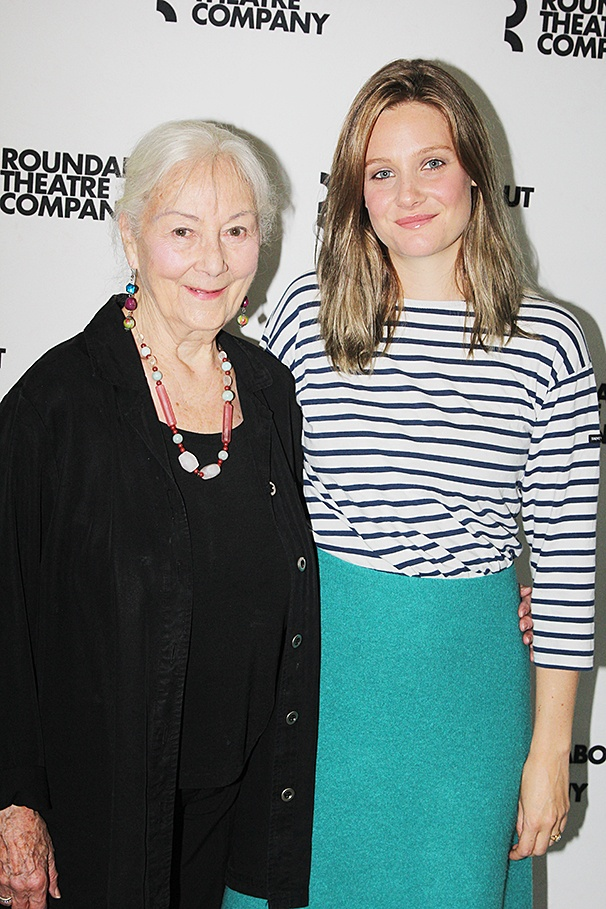 Indian Ink - Meet and Greet - 8/14 - OP – Rosemary Harris – Romola Garai