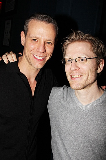 Memphis Celebrates 1,000 Performances – Adam Pascal – Anthony Rapp