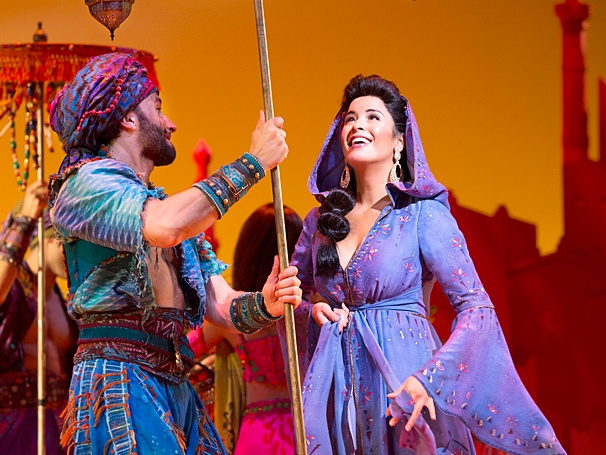 <I>Aladdin</I>: Show Photos - Brandt Martinez - Courtney Reed