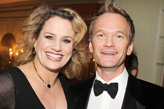 Drama League gala for NPH - 2014 - Cady Huffman - Neil Patrick Harris