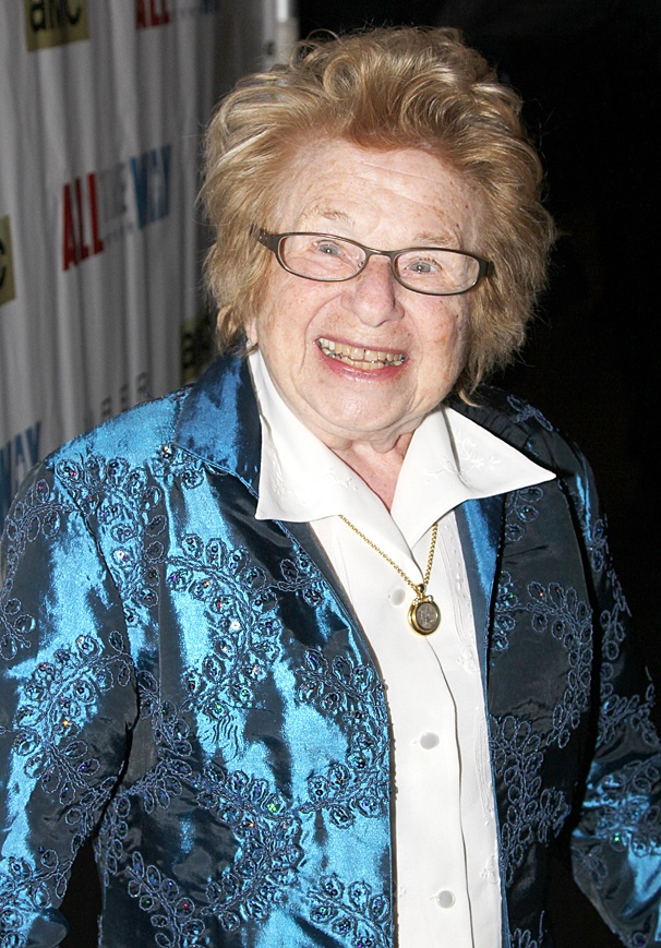 All The Way - Opening - OP - 3/14 - Dr. Ruth Westheimer