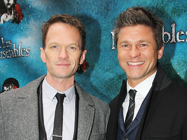 Les Miserables - Opening - OP - 3/14 - Neil Patrick Harris - David Burtka