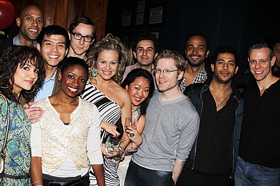 Memphis Celebrates 1,000 Performances – Montego Glover – Adam Pascall – Anthony Rapp – Telly Leung - Wellwishers