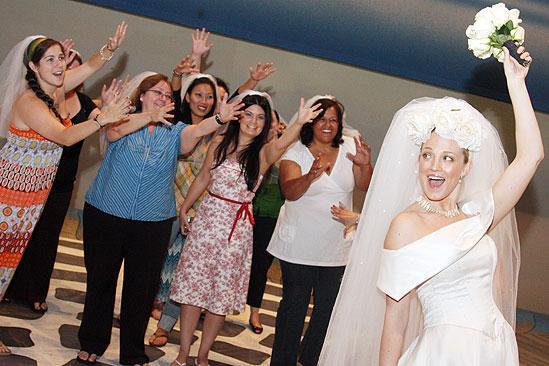 Mamma Mia 15th Longest Running Show - Brandi Burkhardt - brides