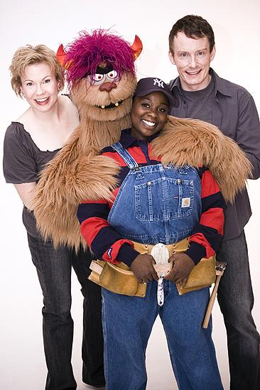 Avenue Q Final Cast Photo Shoot - Jennifer Barnhart - Danielle K. Thomas - Christian Anderson