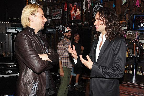 Nickelback at Rock of Ages - Constantine Maroulis - Chad Kroeger (apologizing)