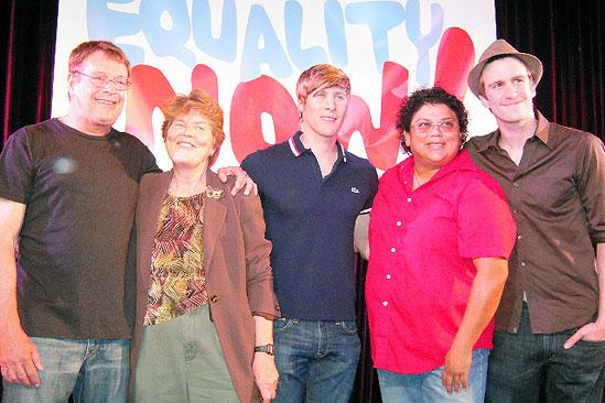 Hair in LA - Cleve Jones - Torie Osborn - Gavin Creel - Dustin Lance Black - Anne Marie Williams