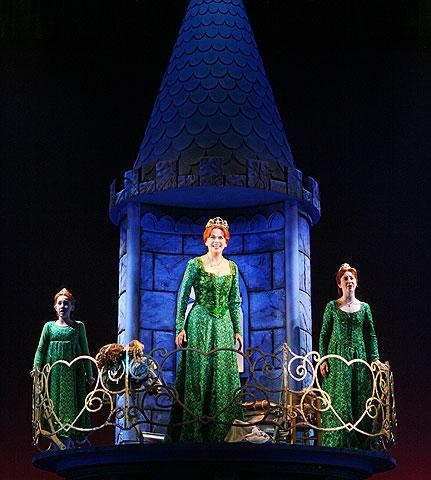 Shrek - Show Photo - Sutton Foster (little fionas)