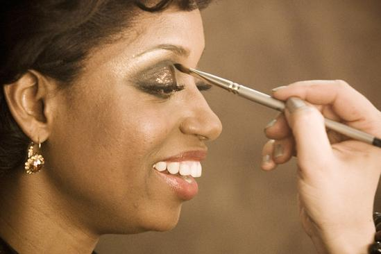 Memphis Promo Shoot - Montego Glover (eye makeup)