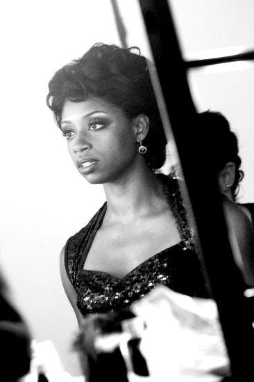 Memphis Promo Shoot - Montego Glover (b&w mirror)