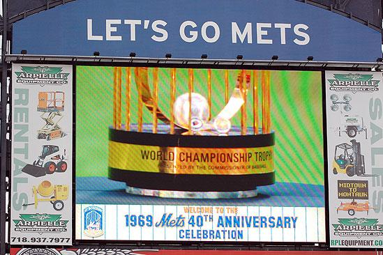 Will Swenson Sings at Mets Game - let's go mets