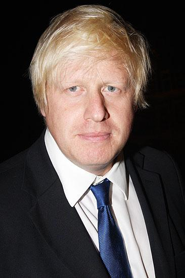 London Mayor Boris Johnson at Billy Elliot - Boris Johnson