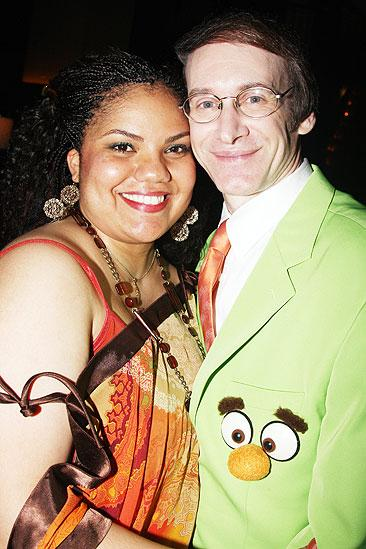Avenue Q Final Broadway  Tonya Dixon  Rick Lyon