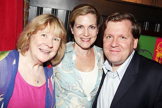 The Retributionists Opening Night – David Lindsay-Abaire – wife Christine – Marylouise Burke