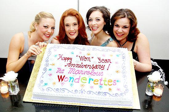 The Marvelous Wonderettes One Year Anniversary - Kirsten Bracken - Misty Cotton - Christina Decicco - Lindsay Mendez