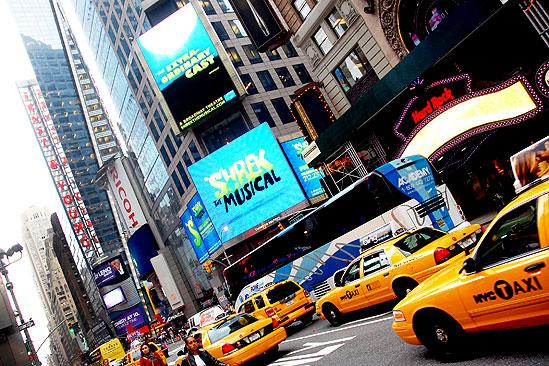 Shrek at NASDAQ – street