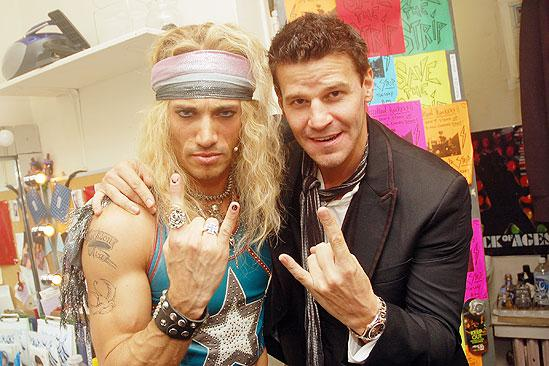 David Boreanaz at Rock of Ages – David Boreanaz – James Carpinello