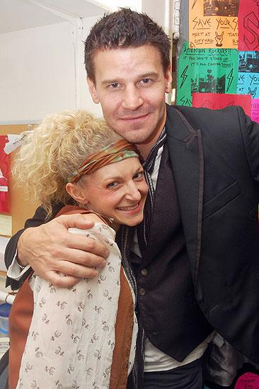 David Boreanaz at Rock of Ages  David Boreanaz  Lauren Molina