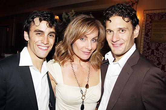 Beth Leavel debut in Mamma Mia – Michael Mindlin- Judy McLane – Eric William Morris