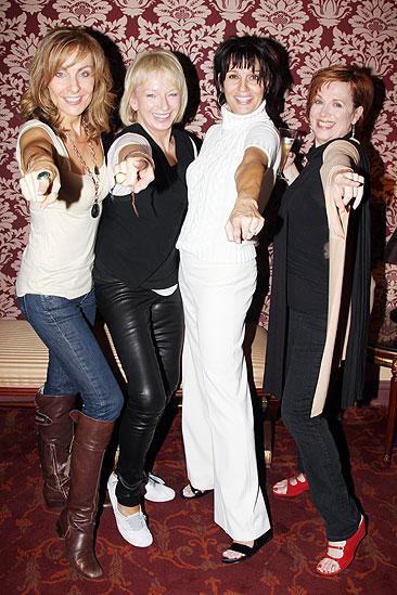 Beath Leavel debut in Mamma Mia – Judy McLane – Judy Craymer – Beth Leavel – Allison Briner