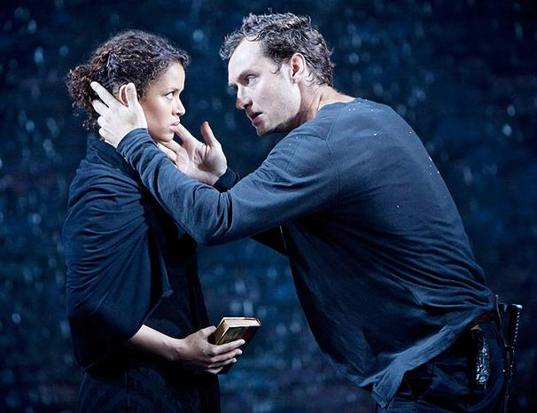 Hamlet - Show Photos - Gugu Mbatha-Raw - Jude Law