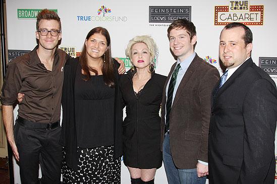 True Colors Cabaret – Gavin Creel – Jenny Kanelos – Rory O'Malley – Cyndi Lauper