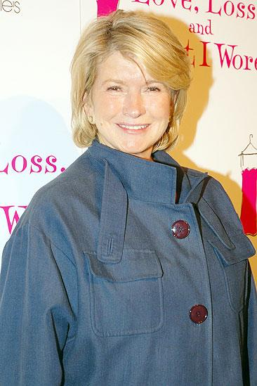 Love, Loss opening – Martha Stewart