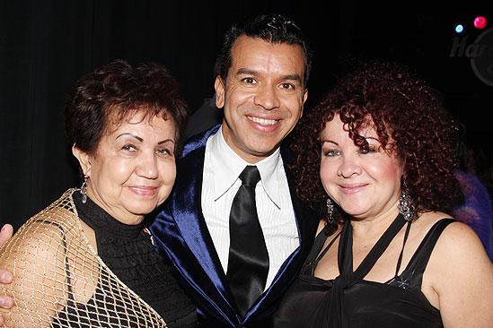 Memphis Opening - Sergio Trujillo - mom - sister