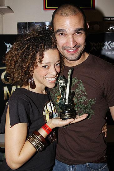 The Golden Mullet Awards - Marcy Harriell - Javier Munoz