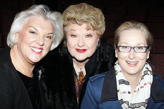 Meryl Streep at Love, Loss and What I Wore – Tyne Daly – Marilyn Maye – Meryl Streep