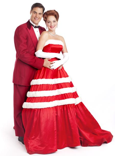 White Christmas - Show Photos - James Clow - Melissa Errico