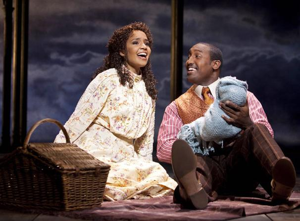 Ragtime - Show Photos - Stephanie Umoh - Quentin Earl Darrington