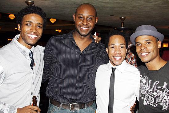 The Lion King Celebrates 5000 perfs – L. Steven Taylor - Alvin Crawford - Philip Turner - Joel Karie