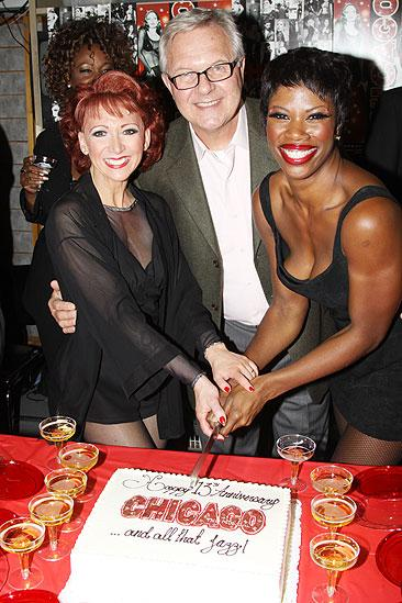 Chicago 13th Anniversary – Bonnie Langford – Walter Bobbie – Deidre Goodwin