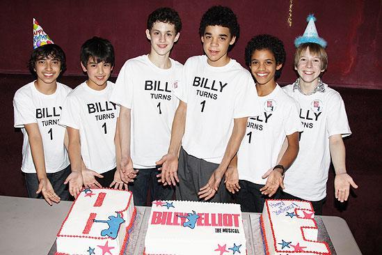 Billy Elliot Anniversary – Dayton Tavares – Alex Ko – Trent Kowalik – David Alvarez – Liam Redhead – Tommy Batchelor