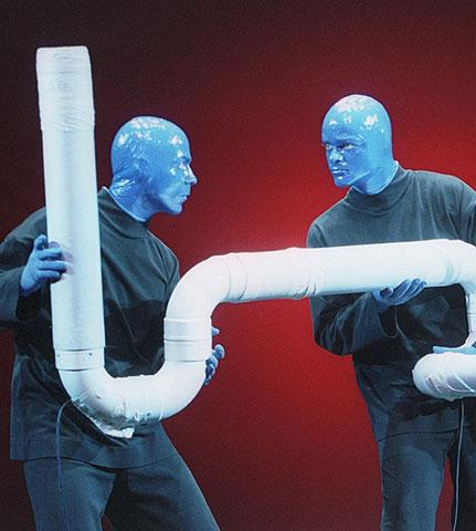 Blue Man Group - Show Photos - cast 1