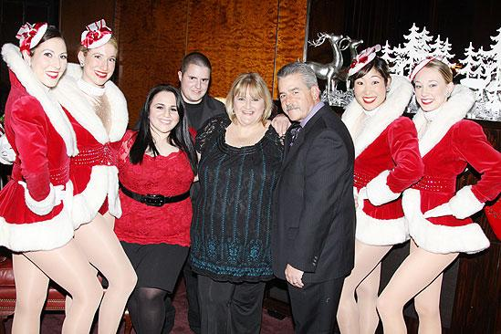 Make-A-Wish Foundation at The Radio City Christmas Show - Rockettes - Nikki Blonsky - family