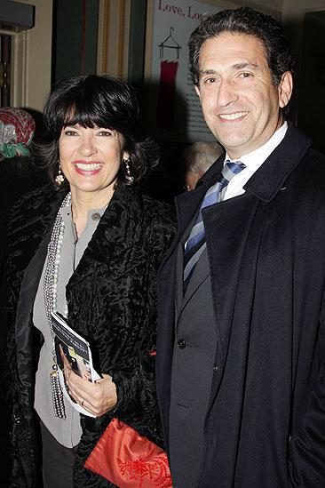 November 2009 cast of Love, Loss – Christiane Amanpour – James Rubin