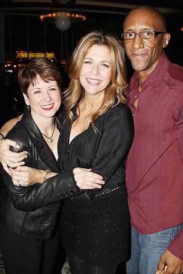 November 2009 cast of Love, Loss – Leslie Stifelman – Rita Wilson – Gregory Butler