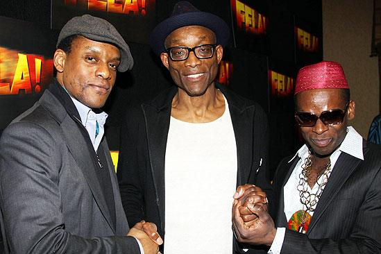 Fela Opening Night - Kevin Mambo - Bill T. Jones - Sahr Ngaujah