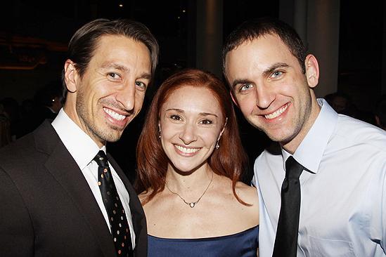 Addams Family Chicago opening – Adam Zotovich - Nili Bassman – Jeremy Shaffer