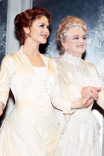 Angela Lansbury catherine zeta jones broadway