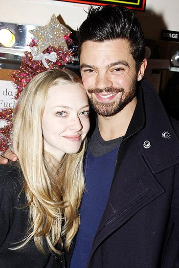 Amanda Seyfried and Dominic Cooper at Rock of Ages - Amanda Seyfried - Dominic Cooper